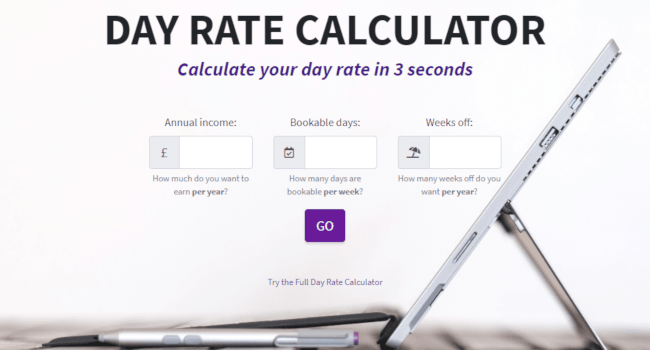 Calculate what day rate you need to charge to break even as a self-employed worker